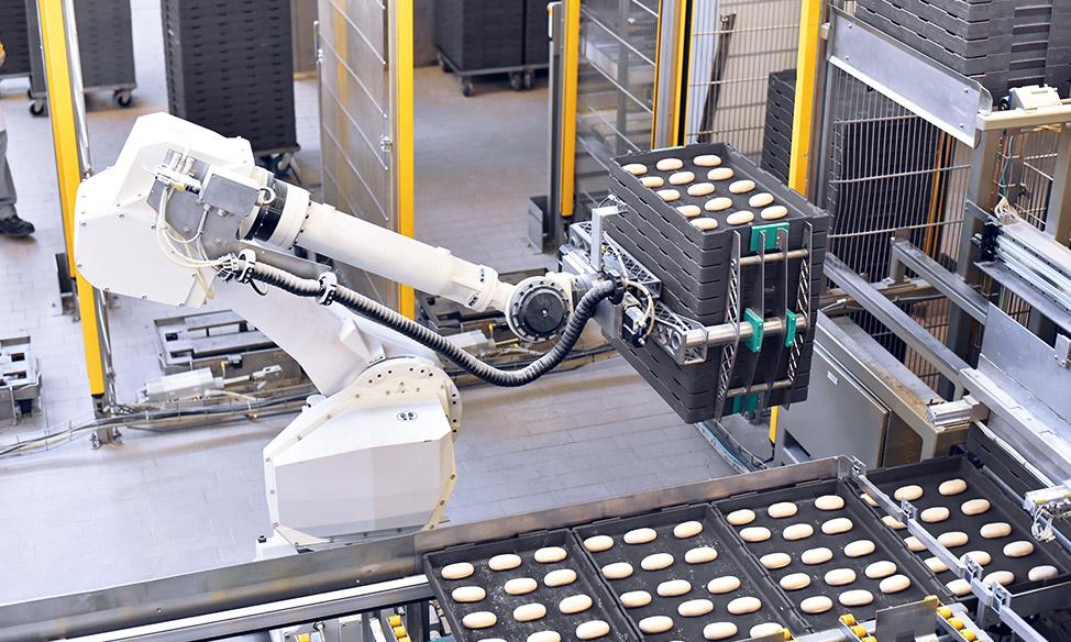 Moderne Produktionsanlagen für Lebensmittel