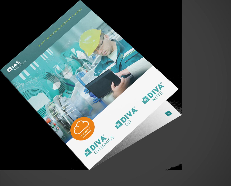 Broschüre der IAS Mexis zu Instandhaltungssoftwarelösungen