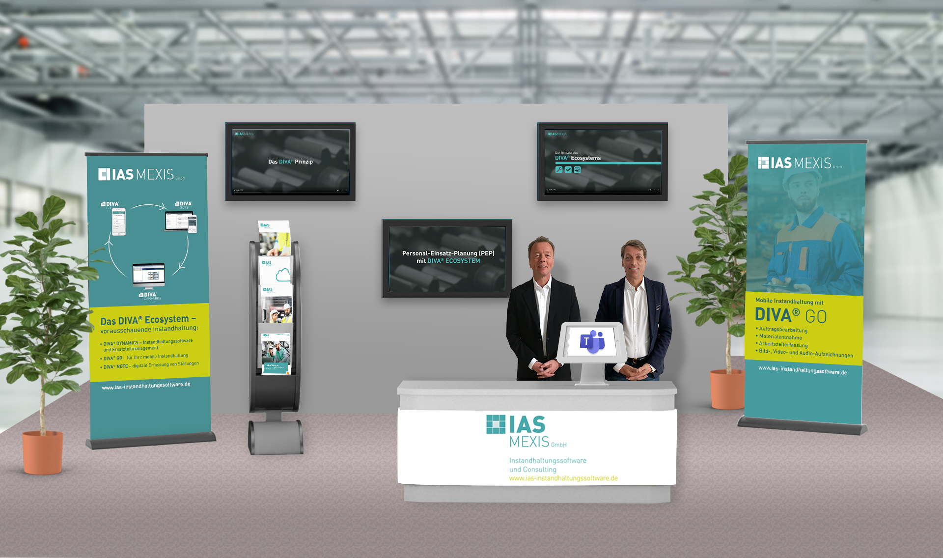 Virtueller Stand Instand MEXIS